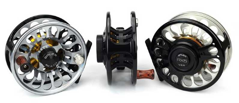 bauer rx 1-7 fly reels