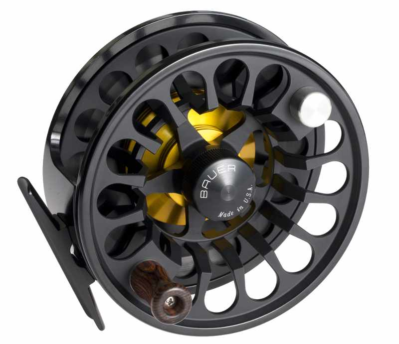 single bauer rx spey fly fishing reel